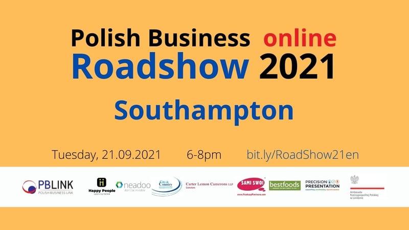 PBLINK Roadshow 2021 EN Southampton