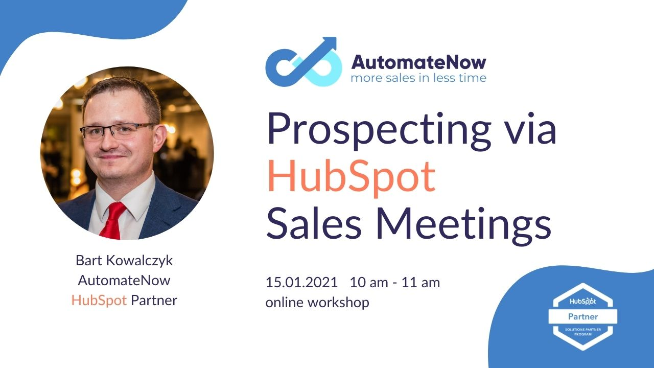 Prospecting via HubSpot Sales Meetings Workshop by AutomateNow