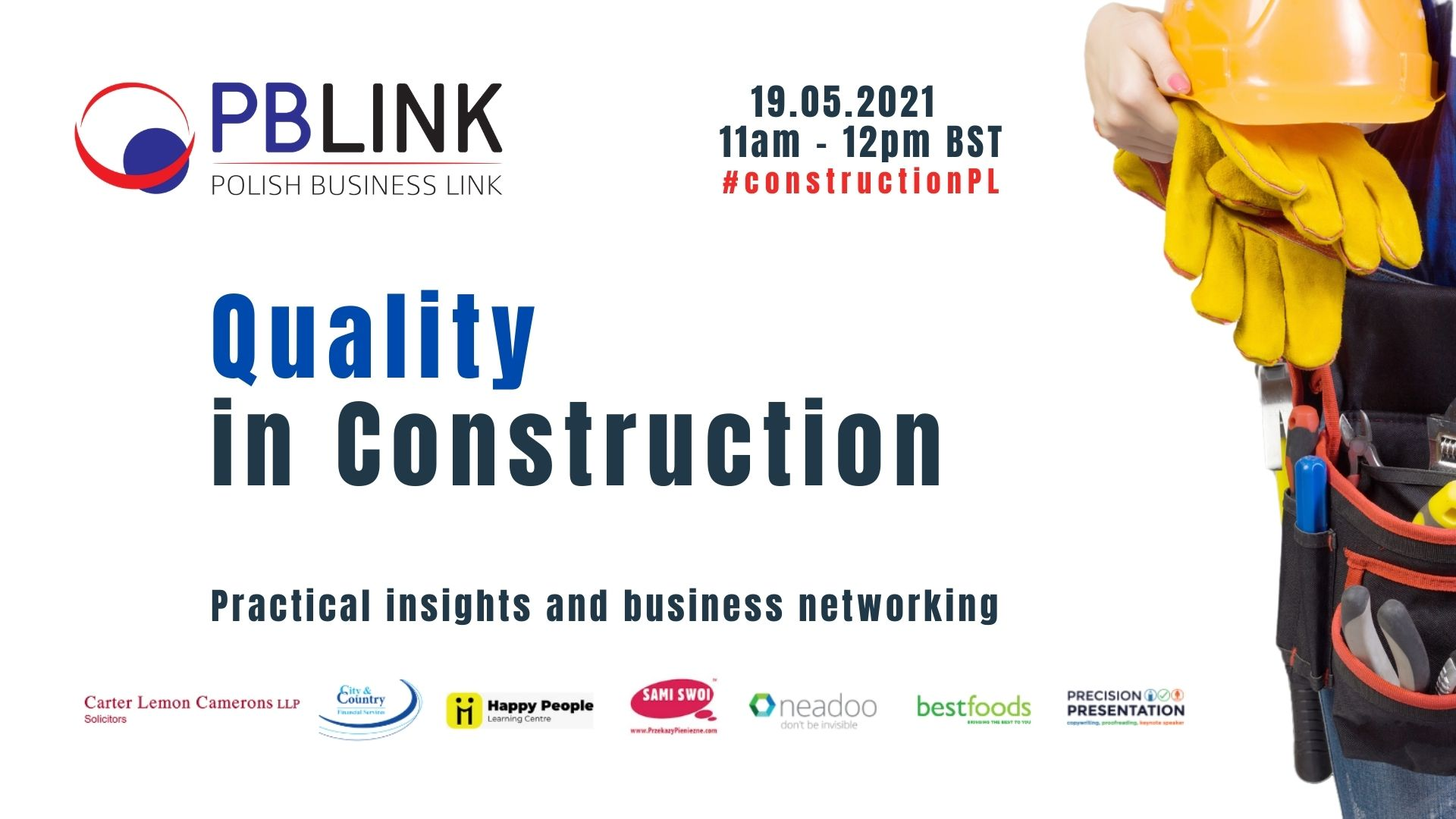 PBLINK Insights Quality in Construction