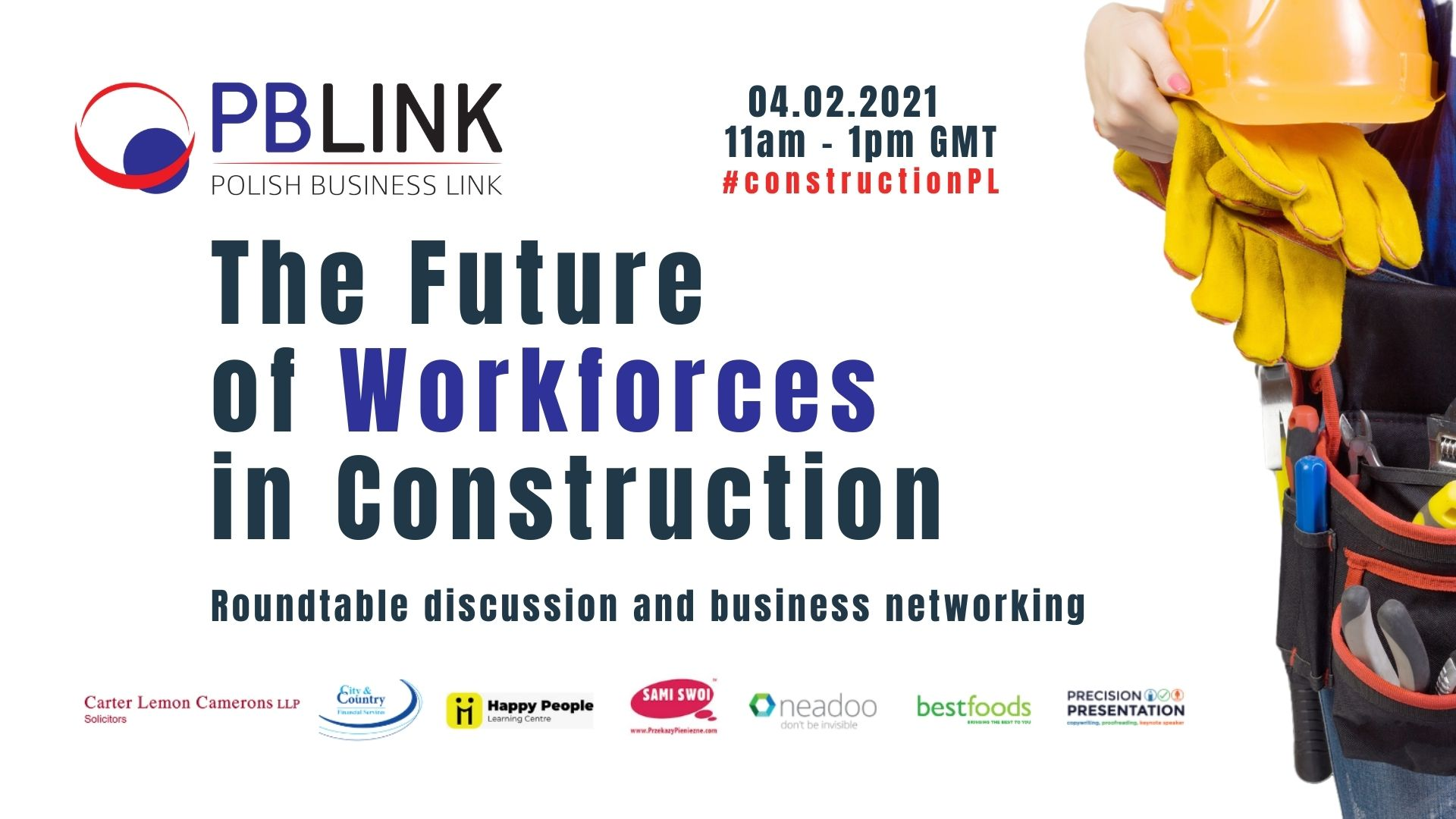 PBLINK Insights on the future of Workforces in Construction in the UK