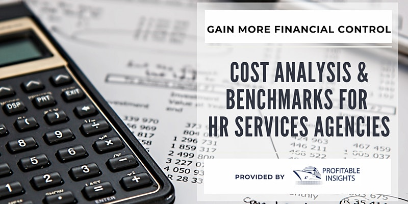 Cost Analysis and Benchmarks for HR Services Agencies