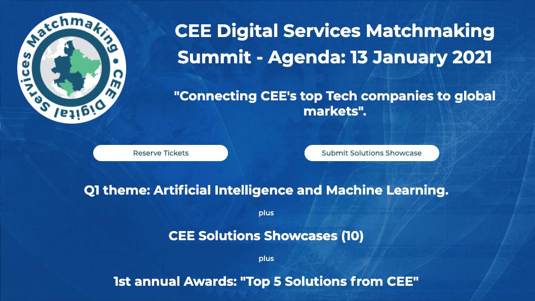 CEE Digital Services Matchmaking Summit