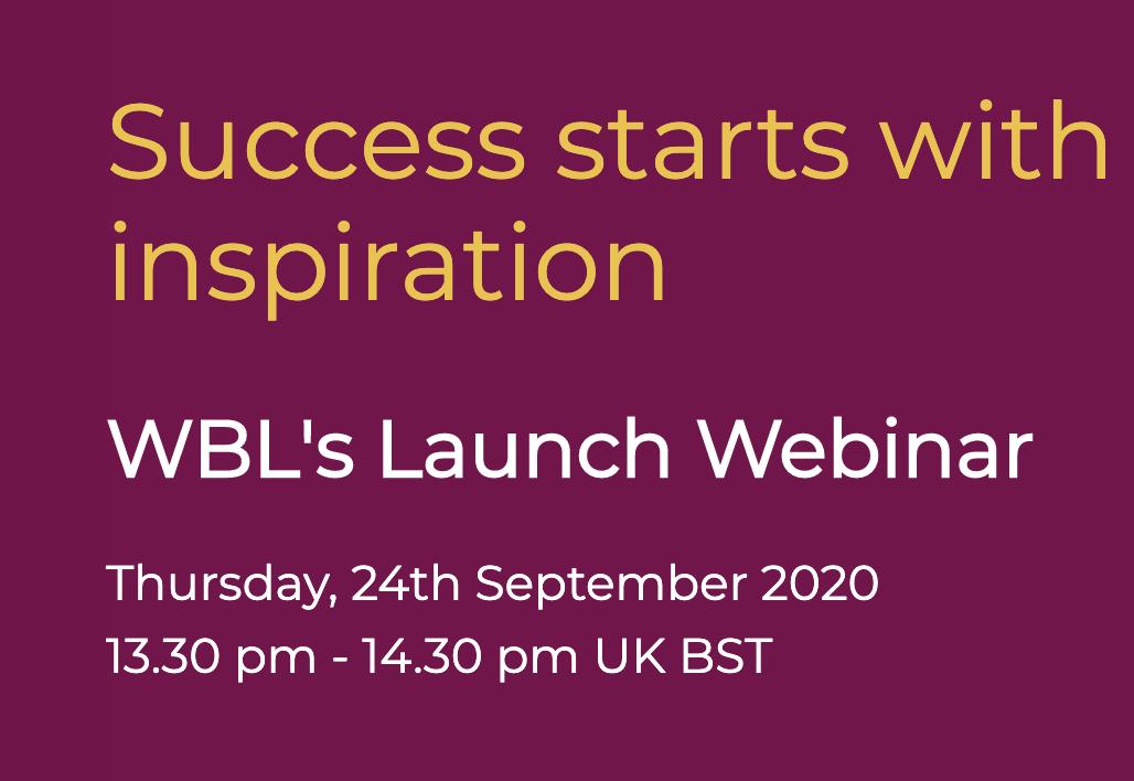Women's Business Link launch webinar