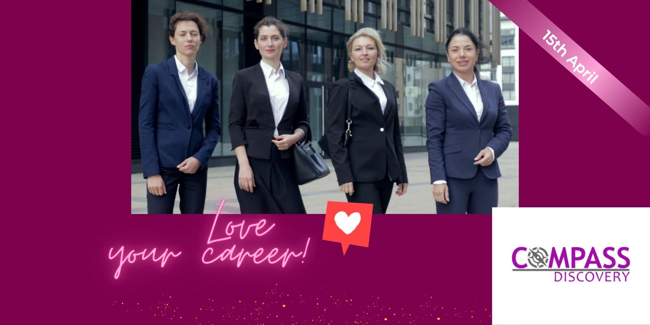 WBL webinar on how to love your career